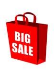torby duży sprzedaży zakupy Zdjęcia Stock