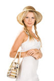 torby dziewczyny ja target1106_0_ Zdjęcie Royalty Free