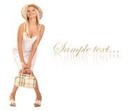 torby dziewczyny ja target1323_0_ Zdjęcie Stock