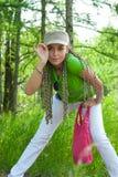torby dziewczyny menchie Zdjęcie Stock