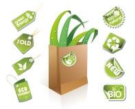 torby eco pomysłu papier Obraz Royalty Free