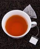 torby filiżanki herbata fotografia stock