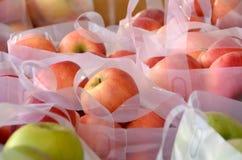 Torby jabłka zdjęcie stock