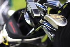 torby klubów golfowy macro Obraz Stock