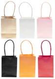 torby kolorów workowy ustalony zakupy Fotografia Stock