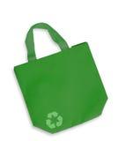 torby koloru tkaniny zieleń zdjęcia stock
