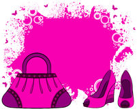torby kreskówki s kobieta Obraz Stock