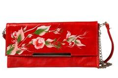 torby kwieciste ręki wzoru kobiety Fotografia Royalty Free