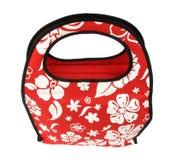 torby layette czerwony zamek błyskawiczny Zdjęcie Royalty Free