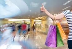 torby mężczyzna zakupy Zdjęcie Stock