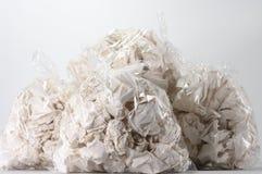 torby miący pełni śmieciarscy papiery Fotografia Stock