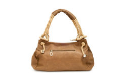 torby odosobniona kobieta Obrazy Royalty Free