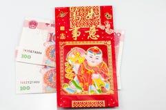 torby pieniądze czerwień zdjęcia royalty free