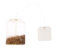 torby pustego miejsca etykietki sznurka herbata Fotografia Royalty Free