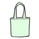 torby pusty zakupy wektor Obrazy Royalty Free