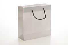 torby rękojeści papieru biel Obraz Stock