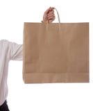 torby ręki mienia zakupy Obraz Royalty Free