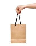 torby ręki zakupy Zdjęcia Royalty Free