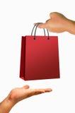 torby ręki zakupy Obrazy Stock