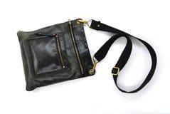 torby samiec czarny rzemienna Obrazy Stock