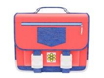 torby satchel szkoła Obraz Royalty Free