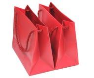 torby tapetują czerwień dwa Obraz Royalty Free