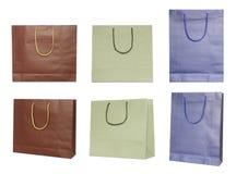 torby tapetują set Obrazy Royalty Free
