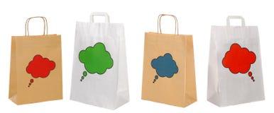 torby tapetują ustalonego zakupy Zdjęcie Royalty Free
