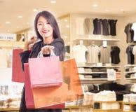 torby target558_1_ zakupy kobiety Obraz Stock