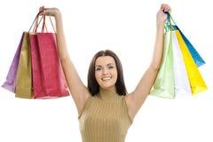 torby target2074_1_ kobiety Zdjęcie Stock