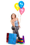 torby target33_1_ kobiety Obrazy Stock
