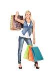 torby target689_1_ kobiet potomstwa Zdjęcia Royalty Free