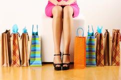 torby target740_1_ kobiety Fotografia Stock