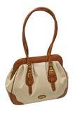 torby tkaniny skóry kobieta Zdjęcia Royalty Free