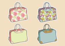 torby ustawiająca podróż ilustracji