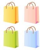 torby ustawiający zakupy Fotografia Stock