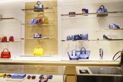 Torby w Louis Vuitton sklepie Zdjęcie Royalty Free