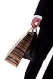 torby wyszczególniają robić mężczyzna zakupy Zdjęcie Royalty Free
