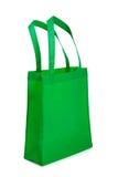 torby zielony rękojeści target901_1_ Zdjęcie Stock