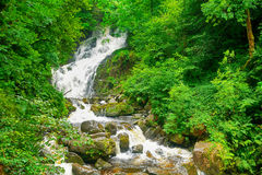Torc Falls, Killarney National Park, Ireland Royalty Free Stock Images