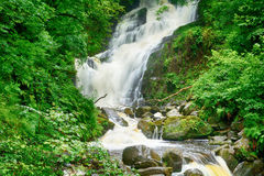 Torc Falls, Killarney National Park, Ireland Royalty Free Stock Photo