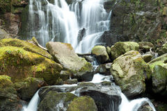Torc Wasserfall, Killarney-Nationalpark, Irland Stockfoto