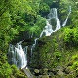 Torc Waterfall. Killarney National Park, County Kerry, Ireland Stock Photography