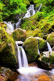 Torc Waterfall. Killarnet, Co.Kerry, after a long period of dry weather Royalty Free Stock Images