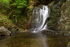 Torc waterfall in Ireland Royalty Free Stock Image