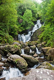 Torc waterfall in Ireland. Torc waterfall in National Park Ireland Royalty Free Stock Photo