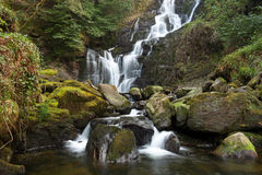 Torc waterfall in Ireland Stock Image