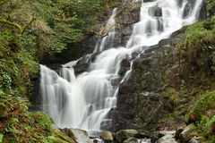 Torc waterfall in Killarney Royalty Free Stock Images