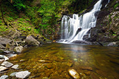 Torc waterfall in Killarney National Park Stock Photo