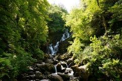 Torc waterfall. Killarney national park Stock Image